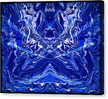 Abstract Art Canvas Print - Abstract 44 by J D Owen