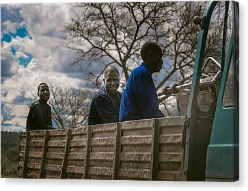 Panorama Canvas Print - Africa by Mihai Ilie