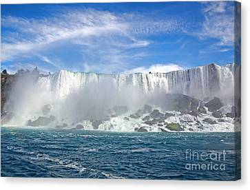 American Falls Canvas Print by Charline Xia
