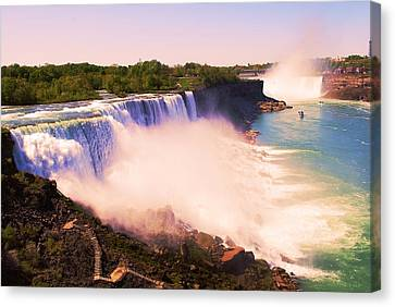 American Niagara Falls Canvas Print by Richard Jenkins