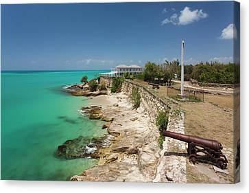 Antigua And Barbuda, Antigua, St Canvas Print by Walter Bibikow