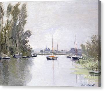 Argenteuil Canvas Print by Claude Monet