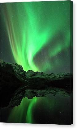 Aurora Borealis Canvas Print by Tommy Eliassen