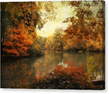Autumn Afternoon  Canvas Print by Jessica Jenney