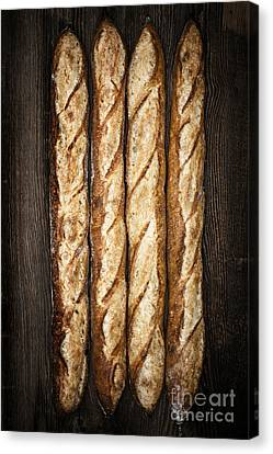 Hand Crafted Canvas Print - Baguettes by Elena Elisseeva