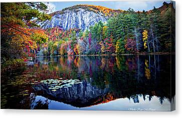 Bald Rock Mountain Nc Canvas Print