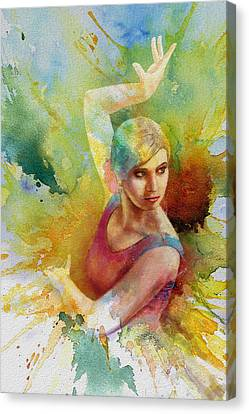 Ballet Dancer Canvas Print by Corporate Art Task Force
