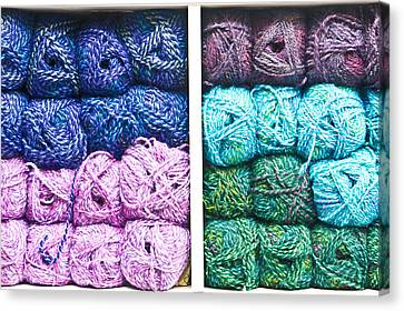 Balls Of Wool Canvas Print
