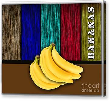 Banana Canvas Print - Bananas by Marvin Blaine