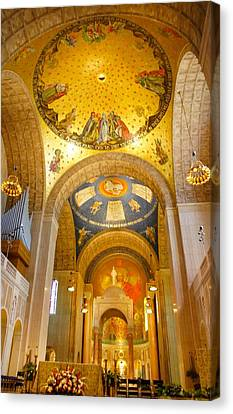 Basilica Of The National Shrine  Canvas Print
