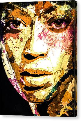Beyonce Canvas Print by Svelby Art