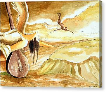 Birth Of A Song Canvas Print by Ayan  Ghoshal