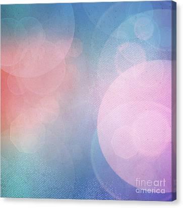Bokeh Background Canvas Print