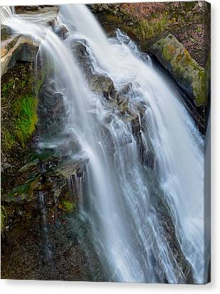 Brandywine Falls Canvas Print by Frozen in Time Fine Art Photography