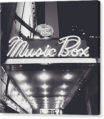 Broadway Canvas Print by Natasha Marco