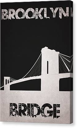 Manhatten Canvas Print - Brooklyn Bridge by Joe Hamilton