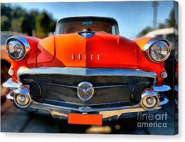 1956 Buick Special Canvas Print by George Atsametakis