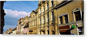 Romania Canvas Print - Buildings In A City, Town Center by Panoramic Images
