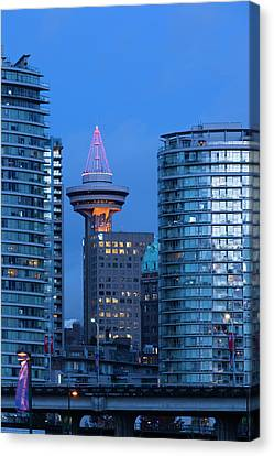 Canada, British Columbia, Vancouver Canvas Print by Walter Bibikow