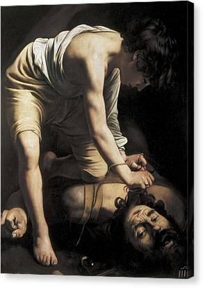 Caravaggio, Michelangelo Merisi Da Canvas Print by Everett