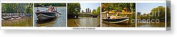 Central Park Afternoon Canvas Print by Madeline Ellis