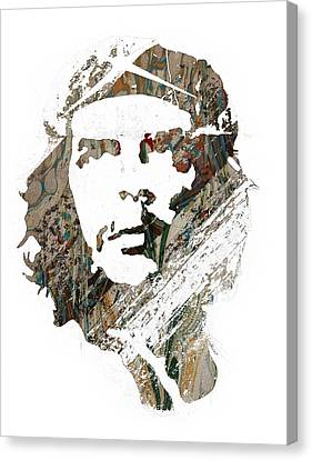 Che Guevara Canvas Print by Celestial Images