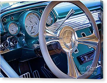 Nosyreva Canvas Print - Chevy 1957 Bel Air by Elena Nosyreva