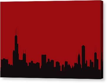 Chicago Bulls Canvas Print by Joe Hamilton
