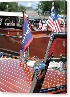 Chris Craft Runabout Canvas Print