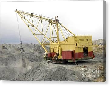 Coal Strip Mining Canvas Print by RIA Novosti