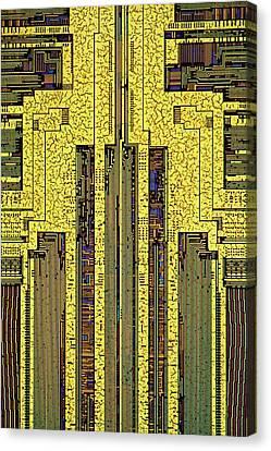 Computer Ram Module Canvas Print by Antonio Romero