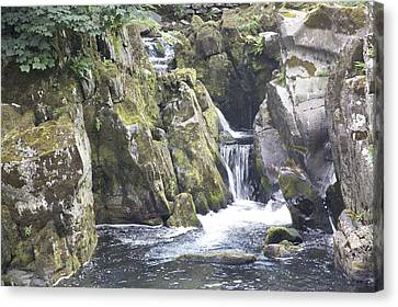 CONWAY BETTWS Y COED WALES GREAT BRITAIN RIVER PAINTING ART REAL CANVAS PRINT
