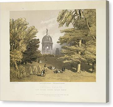 Crystal Palace Canvas Print by British Library