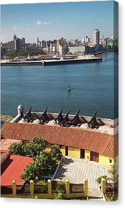 Cuba, Havana, Elevated View Canvas Print