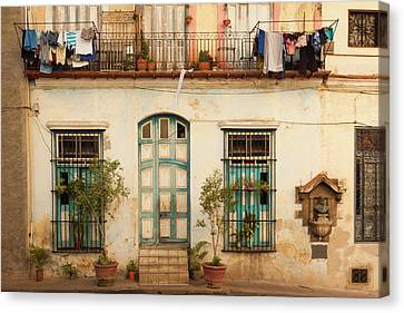 Habana Canvas Print - Cuba, Havana, Havana Vieja, Old Havana by Walter Bibikow