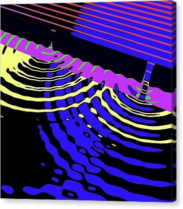 Double-slit Experiment Canvas Print