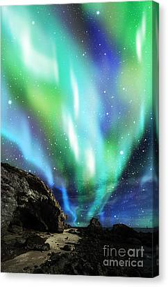Dramatic Aurora Canvas Print