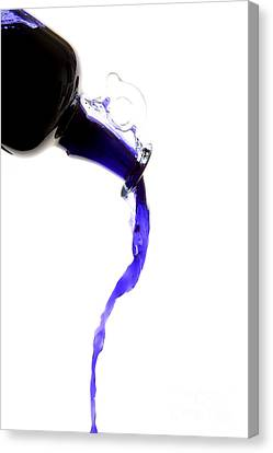 Dripping Liquid Canvas Print