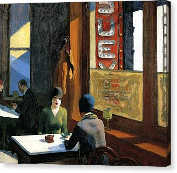 Big Apple Canvas Print - Chop Suey by Edward Hopper