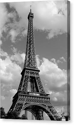 Eiffel Tower Canvas Print by Ivete Basso Photography
