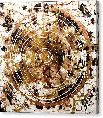 Eternal Circle Canvas Print by Baljit Chadha