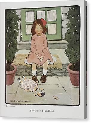 Everyday Fairy Book Canvas Print