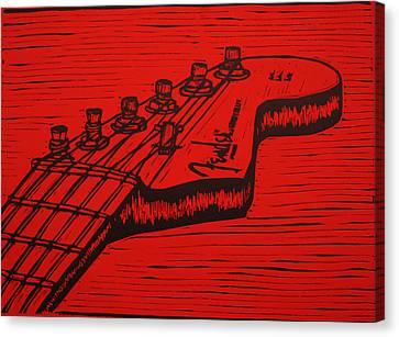 Fender Strat Canvas Print
