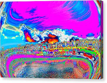 For Instance Canvas Print by Nick David