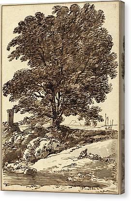 Franz Innocenz Josef Kobell German, 1749 - 1822 Canvas Print by Quint Lox