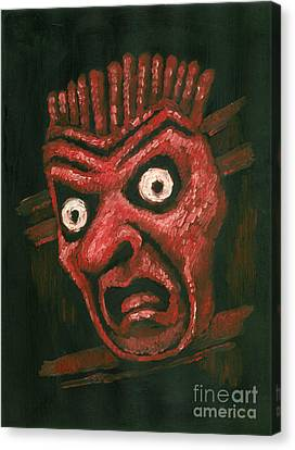 Fright Canvas Print by Suzette Broad