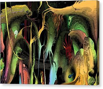 Funhouse Canvas Print by David Klaboe