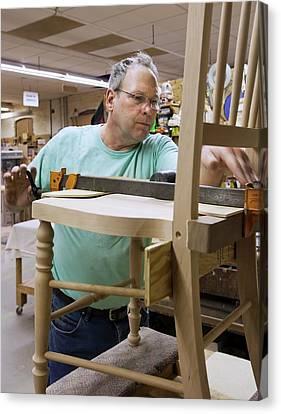 Furniture Crafts Manufacturing Canvas Print