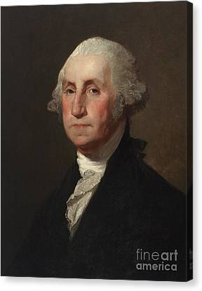 Panel Canvas Print - George Washington by Gilbert Stuart