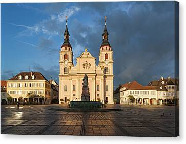Germany, Baden-wurttemburg Canvas Print by Walter Bibikow